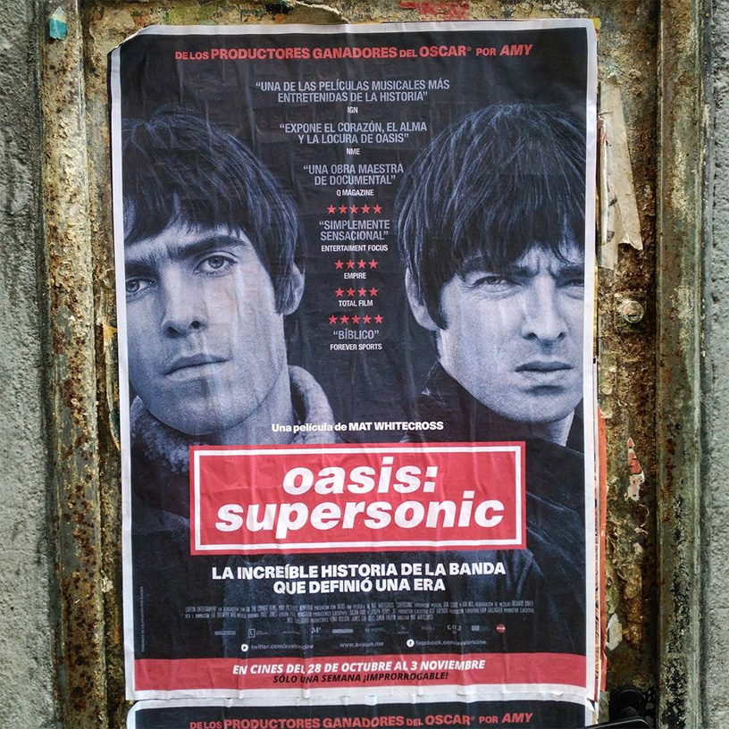 diseño poster OASIS