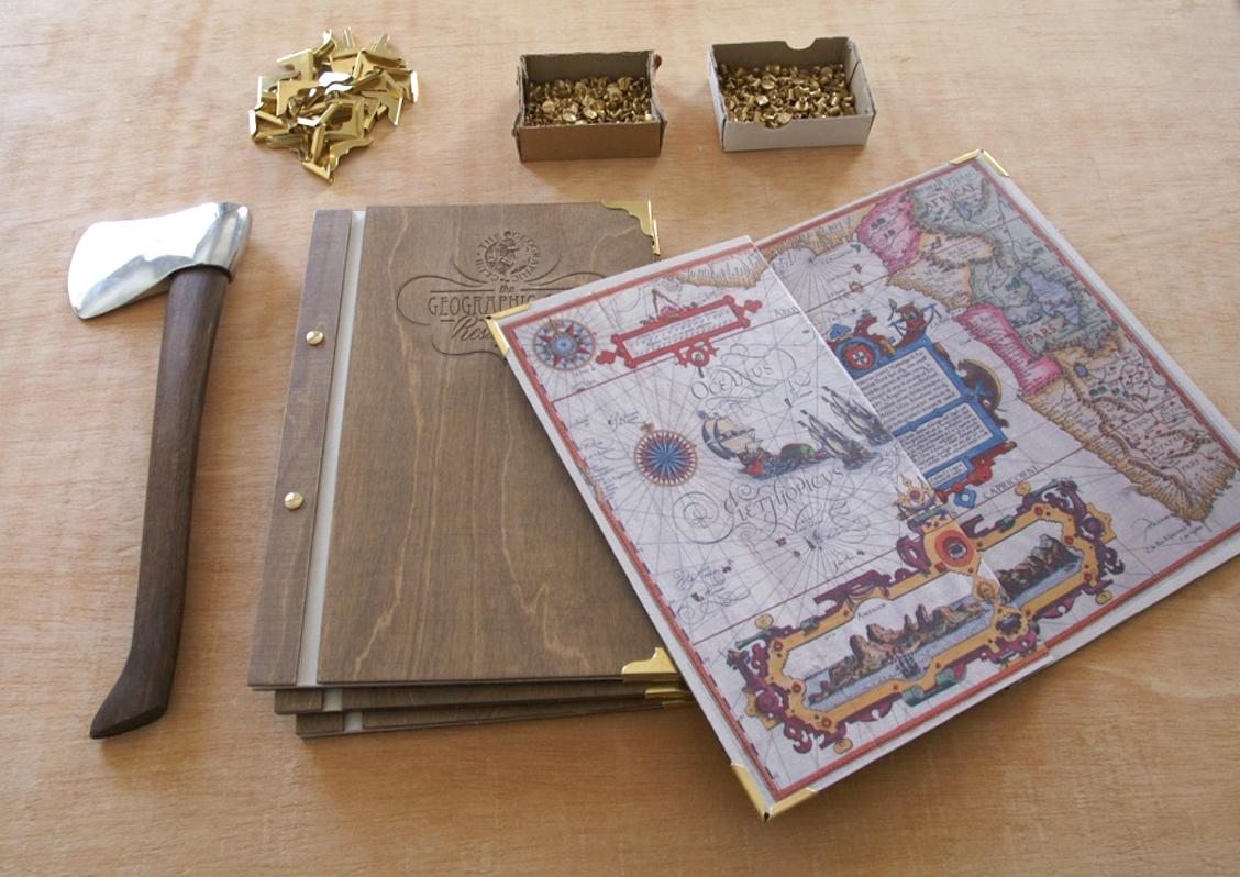 Cartas de madera